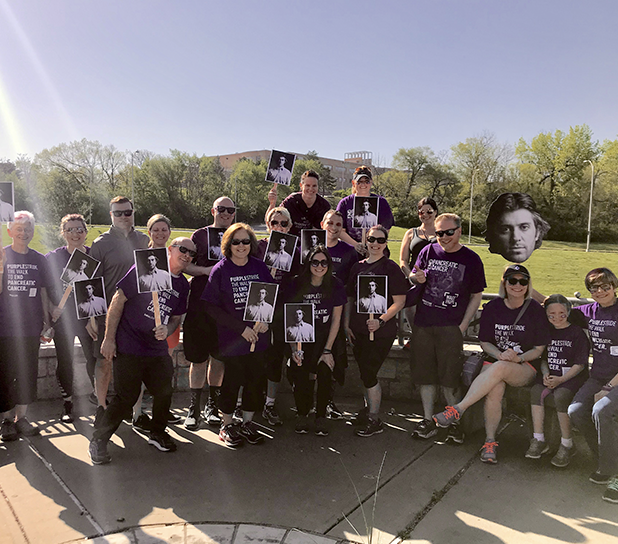 PurpleStride Event Fundraiser Pancreatic Cancer